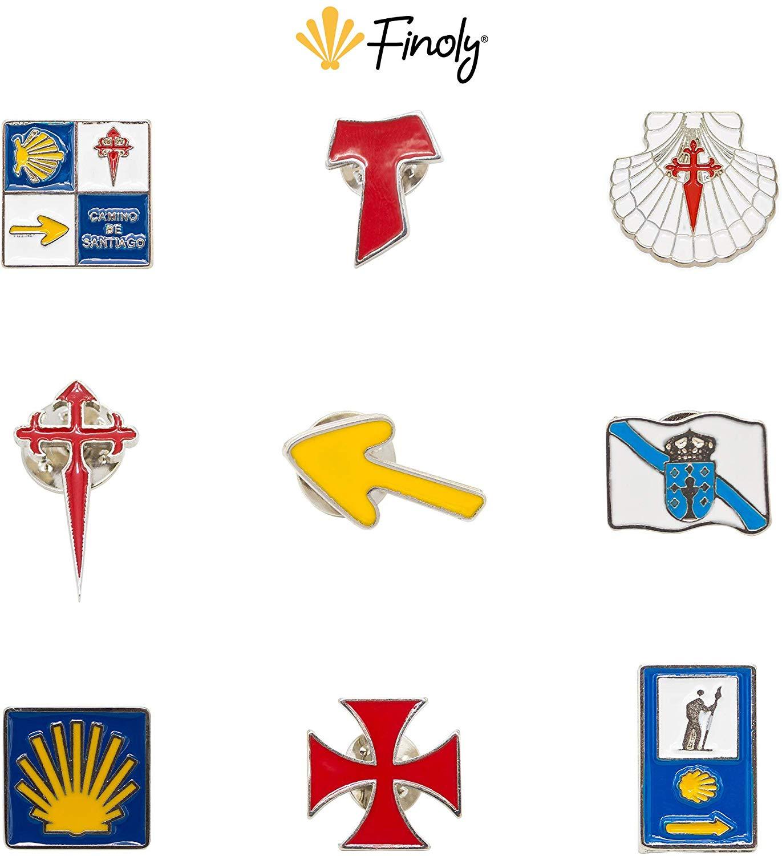 Pin a elegir del Camino de Santiago