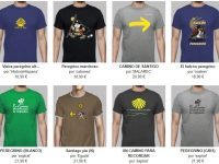 camisetas del camino de santiago